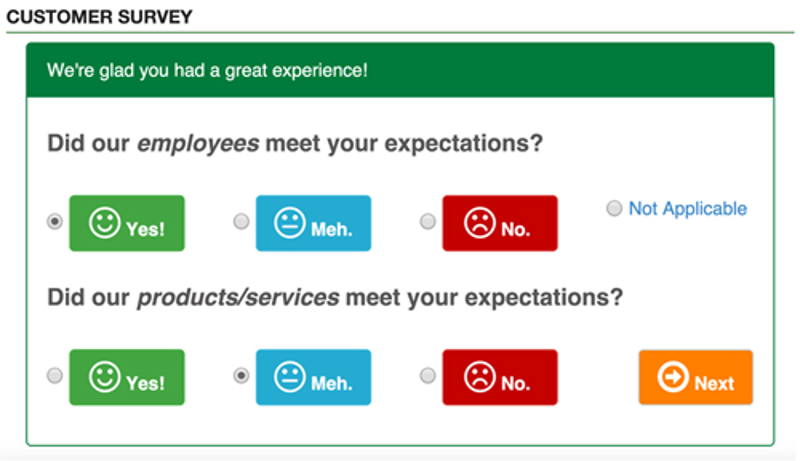 Get the feedback you're missing to effectively grow your business with the Customer Survey App.